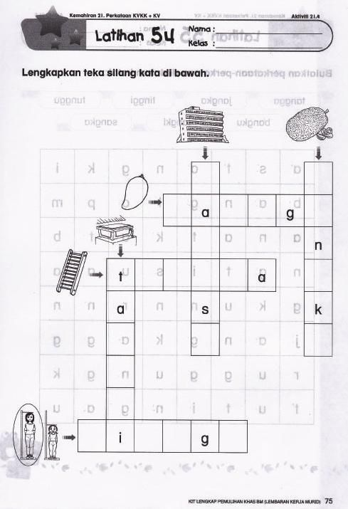 bermacam aktiviti teka silang kata yang sangat terbaik untuk ibubapa dapatkan