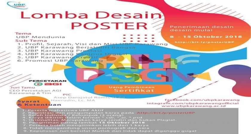 Lomba Desain Poster Berguna Lomba Desain Poster Ubp Karawang Fakultas Teknologi Dan Ilmu Komputer