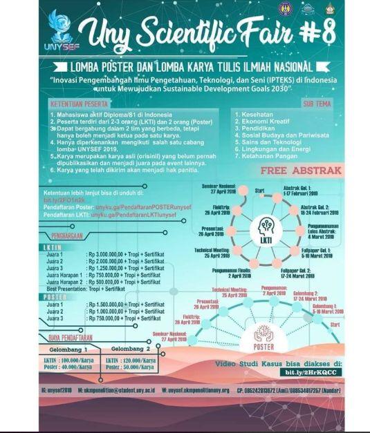 Lomba Desain Poster Terhebat Lomba Desain Poster Nasional 2019 Di Universitas Negeri Yogyakarta