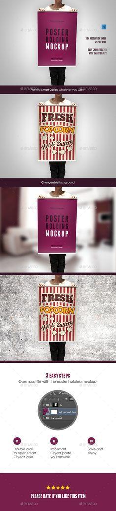 poster holding mockup posters print mockup templates flyer template sports flyer mockup