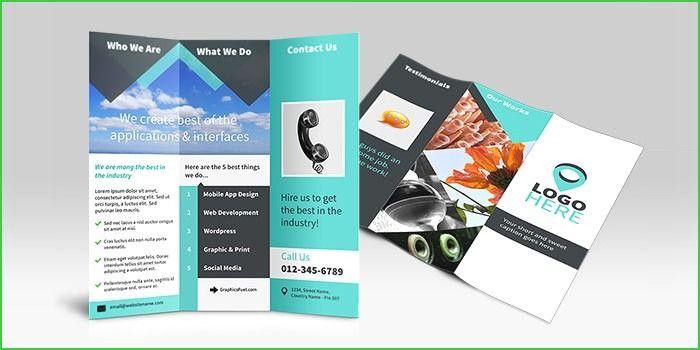 Mock Up Poster Meletup 3 Fold Brochure Design Unique Tri Fold Brochure Mockup