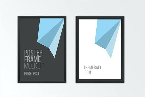 Mock Up Poster Terbaik Photoshop Frame Templates Stingerworld Co