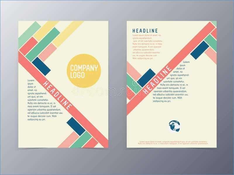 amazing free brochure template template vectors