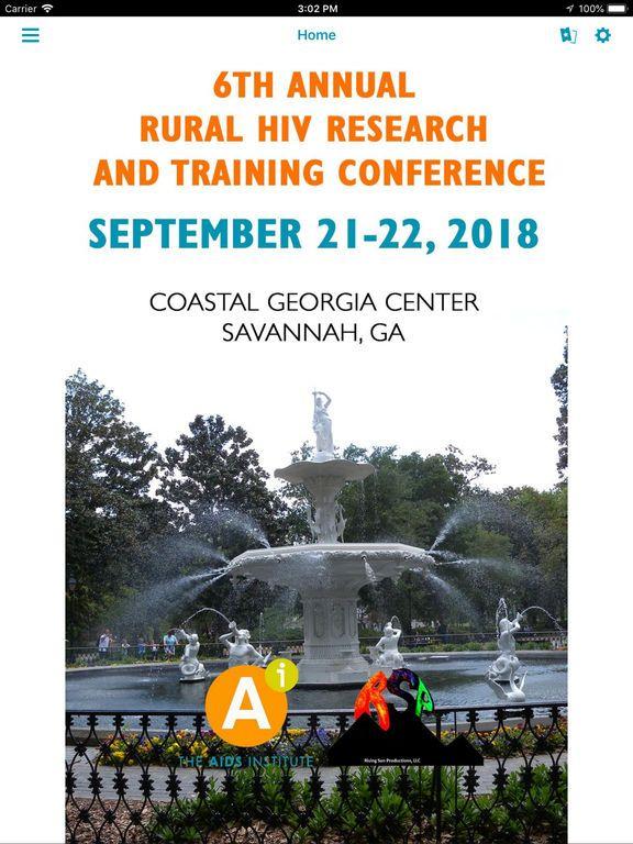 Poster Aids Terhebat Rural Hiv Conference App Price Drops