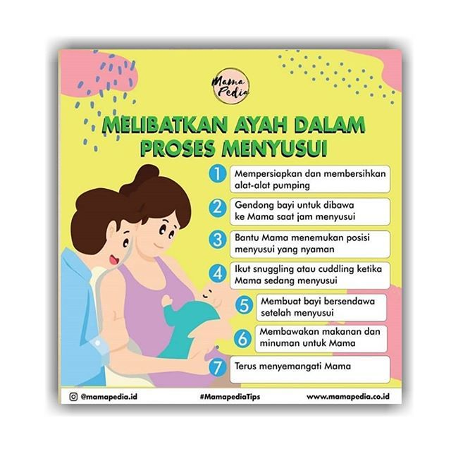 Poster asi Eksklusif Meletup Breastfeedingfather Instagram Posts Photos and Videos Instagub