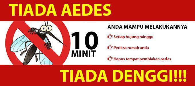 Poster Denggi Terhebat Hospital