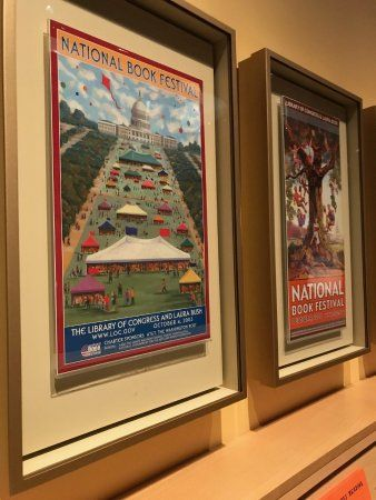 the george w bush presidential library and museum national book festival posters