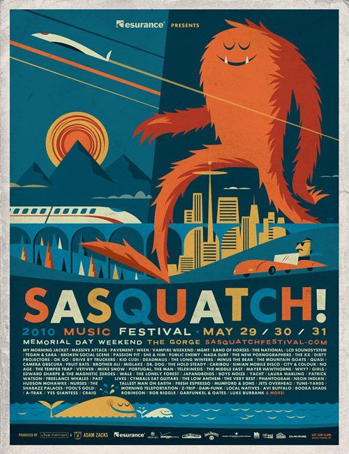 some awesome festival poster google search