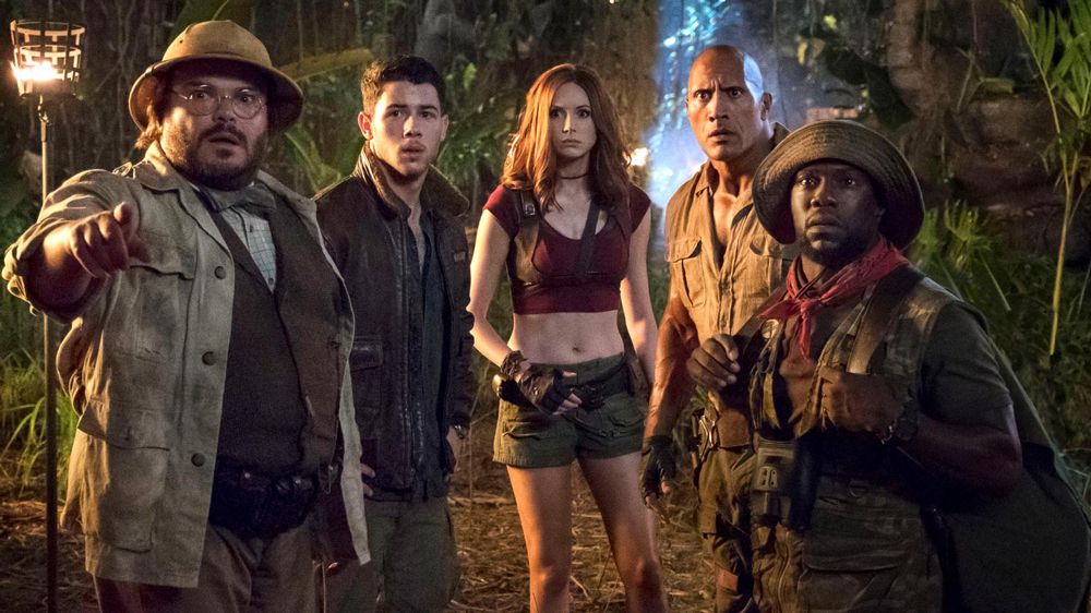 Poster Filem Berguna Jumanji International Box Office Film Hits 768 Million Worldwide
