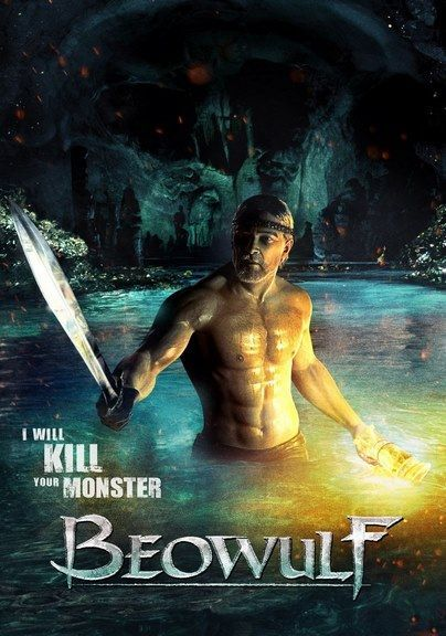 Poster Filem Bermanfaat Beowulf 2007 Beowulf Movie Posters Movies Beowulf