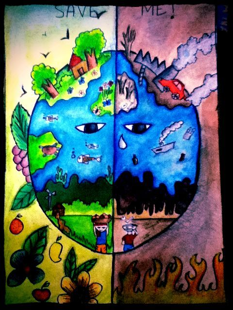 Poster Global Warming Bernilai Nanook S Friends Of the Planet Kids Climate Change Posters