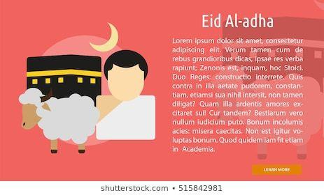 eid al adha conceptual banner