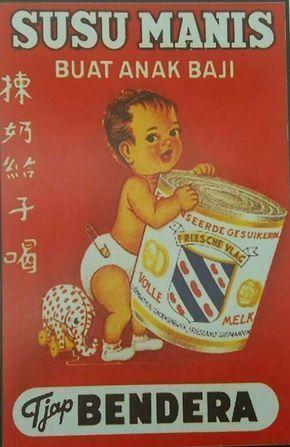 iklan jadul indonesia iklan susu bendera