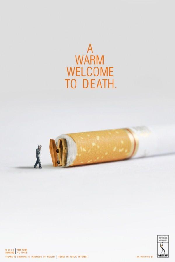 Poster Iklan Terhebat 40 Creative No Smoking Posters to Print Game Development General
