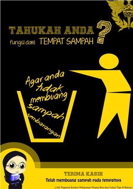 Poster Jagalah Kebersihan Power Pemenang Stiker Jagalah Kebersihan Papan Display Design Art