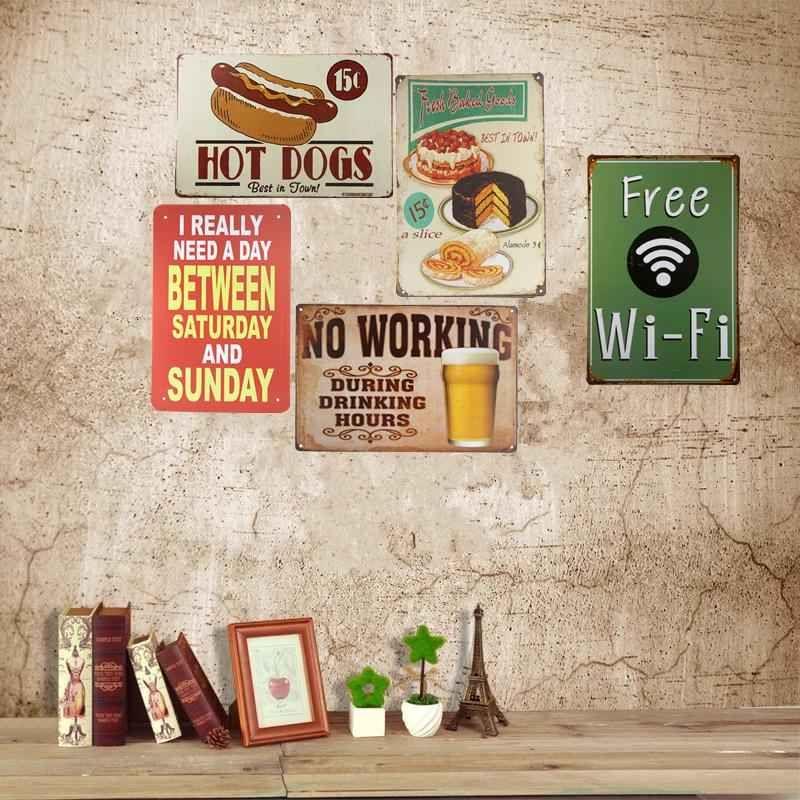 desain poster cafe 16 luar biasa ide kreatif dari 2018 wholesale metal tin signs bar pub
