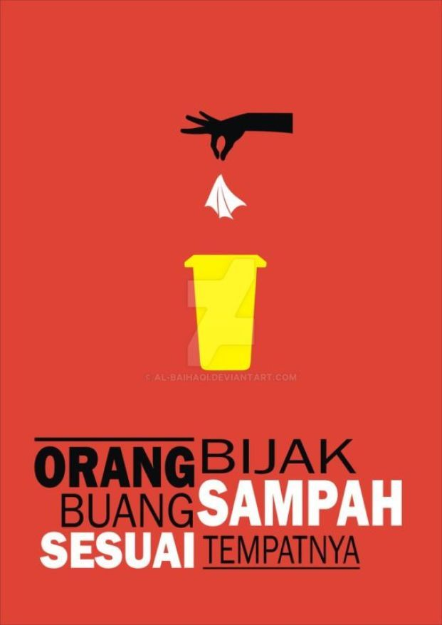 contoh poster