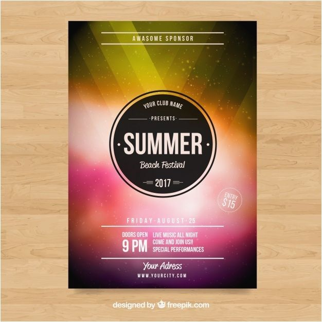 Poster Modern Penting Colorful Modern Business Brochure Vector Free Download 70 Best Free
