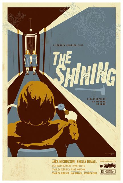 alternative advertising for the shining by tom whalen