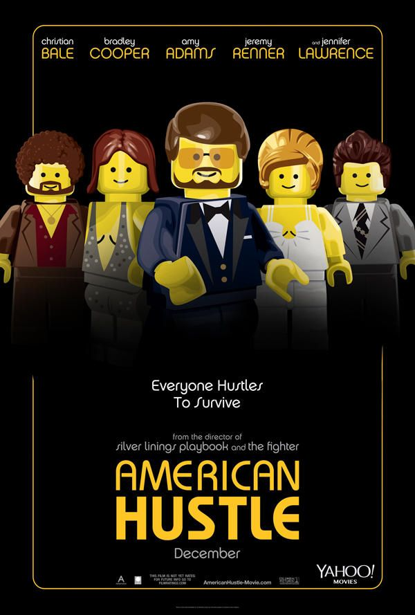 oscar nominees playfully recreated as lego movie posters