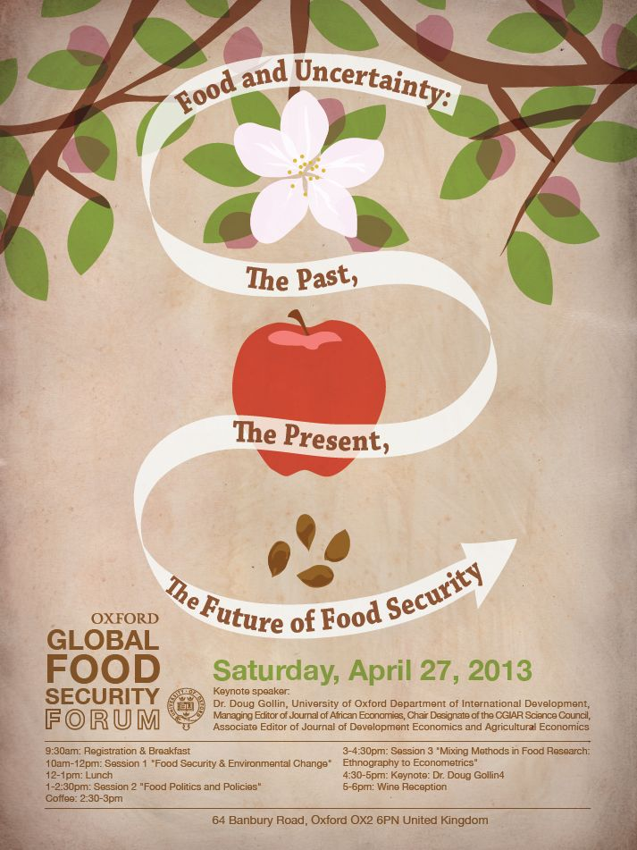 oxford global food security conference 2013