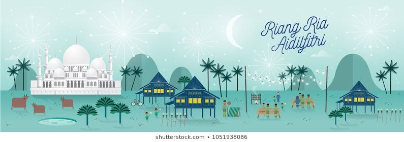Poster Raya Aidilfitri Bermanfaat Royalty Free Hari Raya Images Stock Photos Vectors Shutterstock