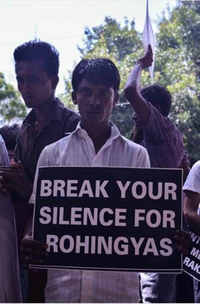 Poster Rohingya Terhebat Rohingya Muslims Protest at Jantar Mantar Raise Slogans Against