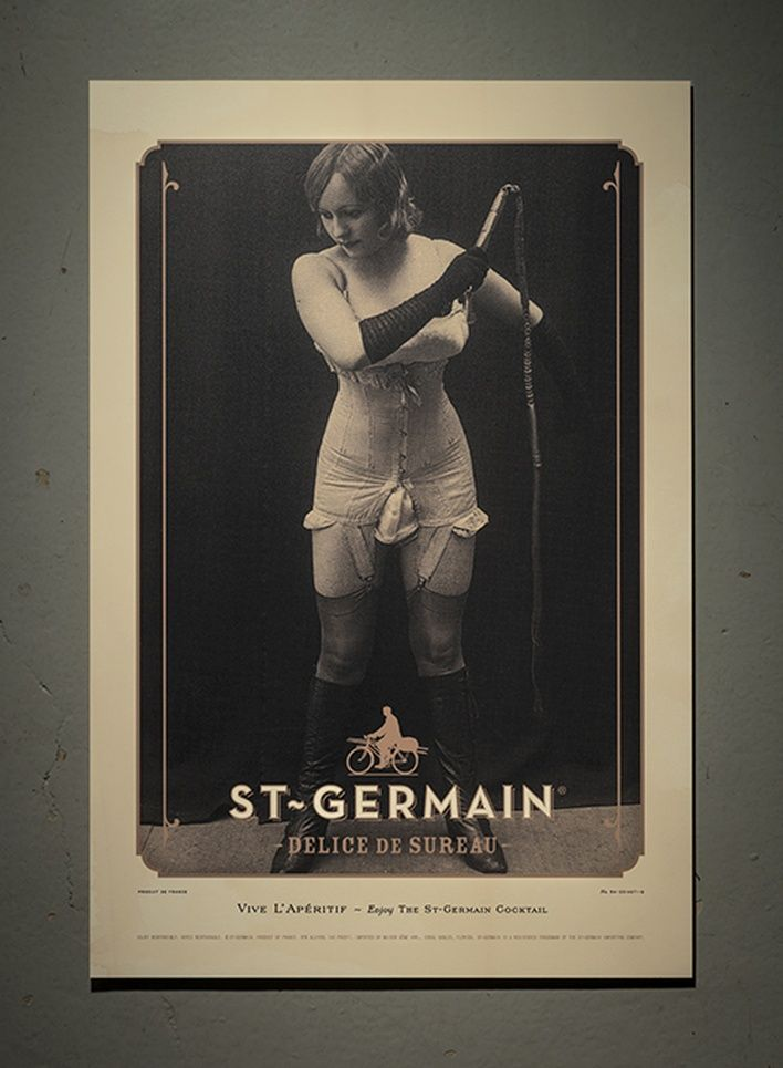 Poster Vintage Baik St Germain Vintage Posters Graphis