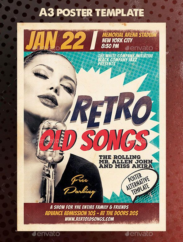 free club flyer templates retro flyer template retro vibes flyer vintage flyer