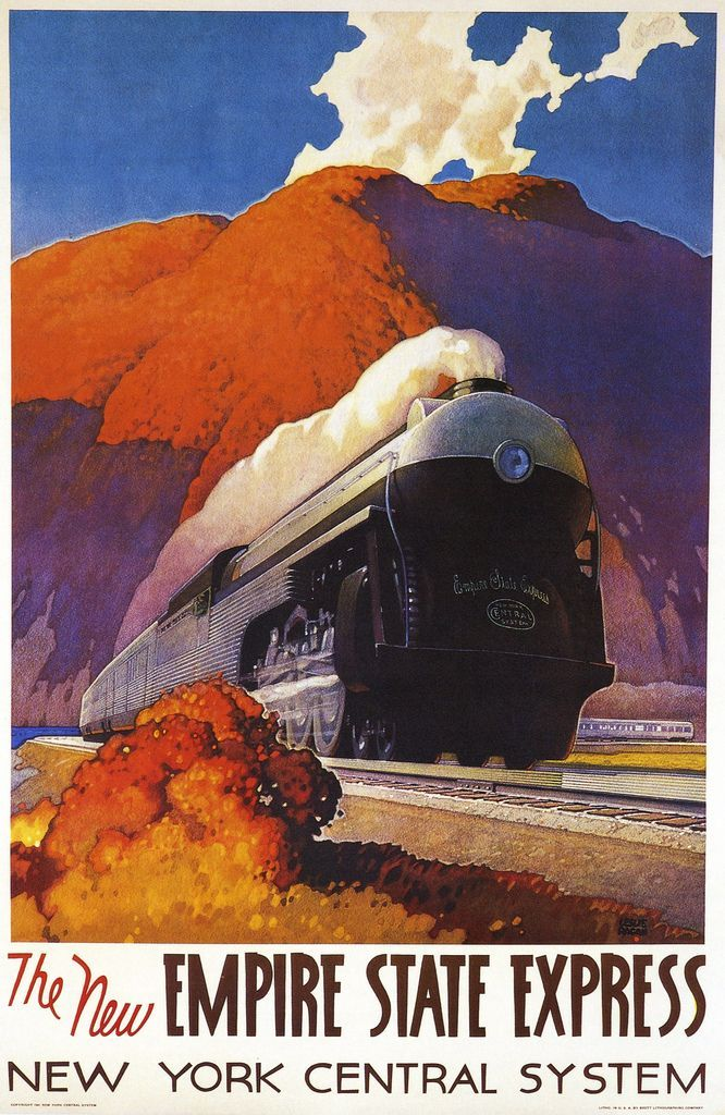 vintage holiday posters 32 best railroads poster images on pinterest