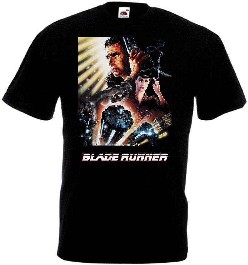 Running Poster Bermanfaat Blade Runner V23 T Shirt Black Movie Poster All Sizes S 3xl Latest T