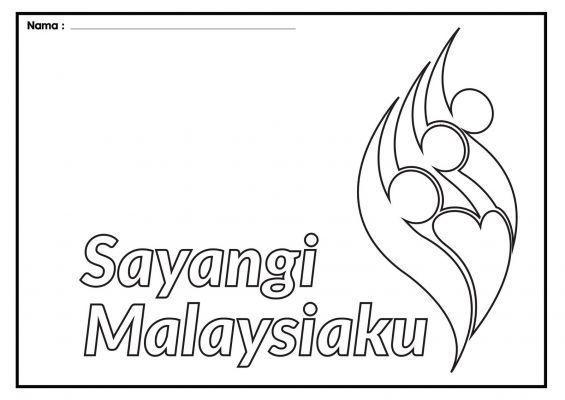 Sayangi Malaysiaku Mewarna Power Gambar Mewarna Archives Page 40 Of 294 Gambar Mewarna