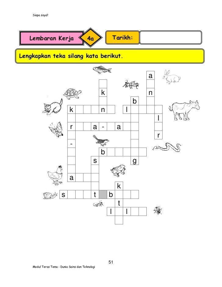 jawapan teka silang kata alam sekitar berguna contoh teka teki ilmiah dan jawabannya yang hebat untuk a download image