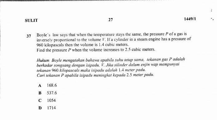 Teka Silang Kata Bahasa Melayu Sekolah Menengah Dan Jawapan Penting Pelbagai Teka Silang Kata Matematik Sekolah Menengah Yang Sangat