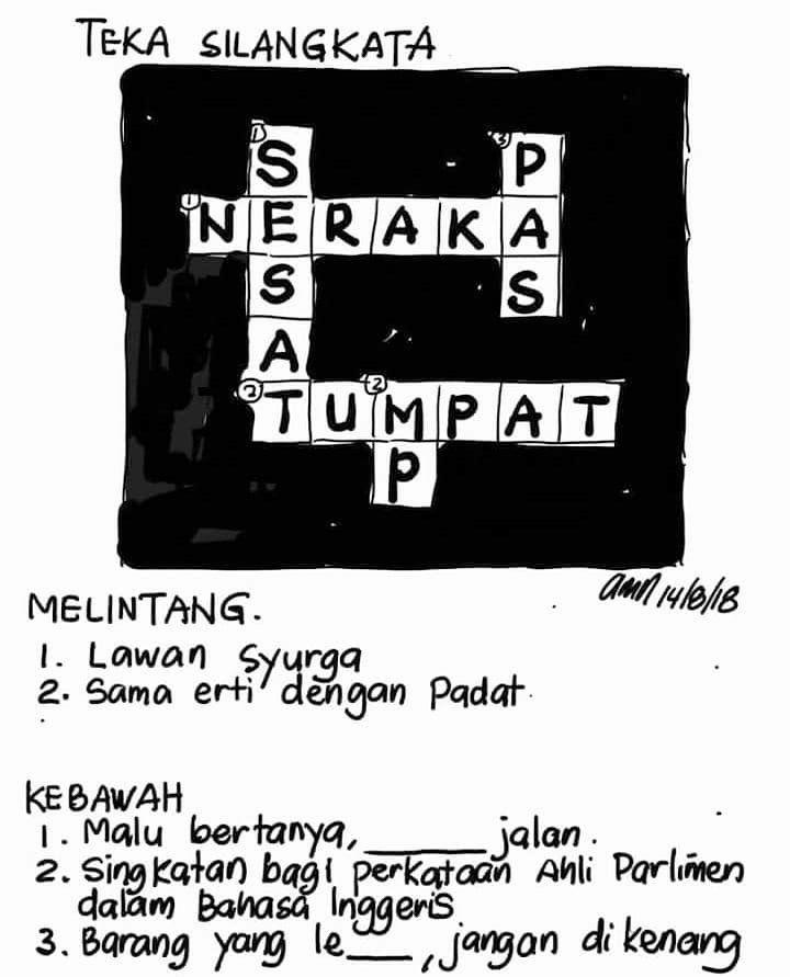 Teka Silang Kata Bahasa Melayu Tingkatan 2 Dan Jawapan Bernilai Skoloh Sistem Login Aplikasi Page 5