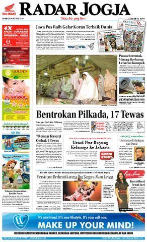 Teka Silang Kata Kenegaraan Terbaik Radar Jogja 01 Agustus 2011 by Radar Jogja issuu