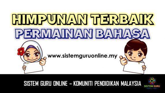 himpunan terbaik permainan bahasa assalamualaikum dan selamat sejahtera pada kali ini sistem guru online mengongsikan salah