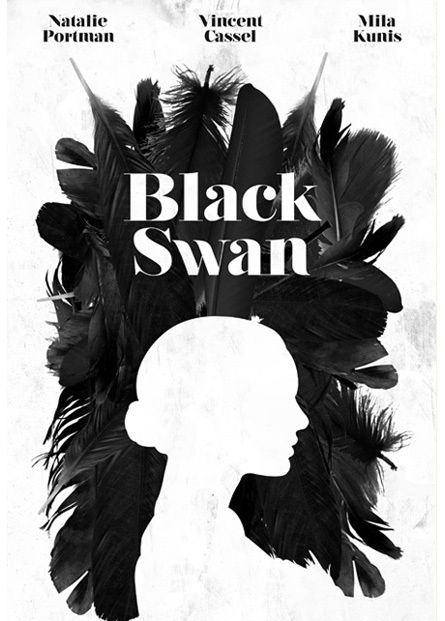 black swan true detective intro movie posters selection inspiration poster typography