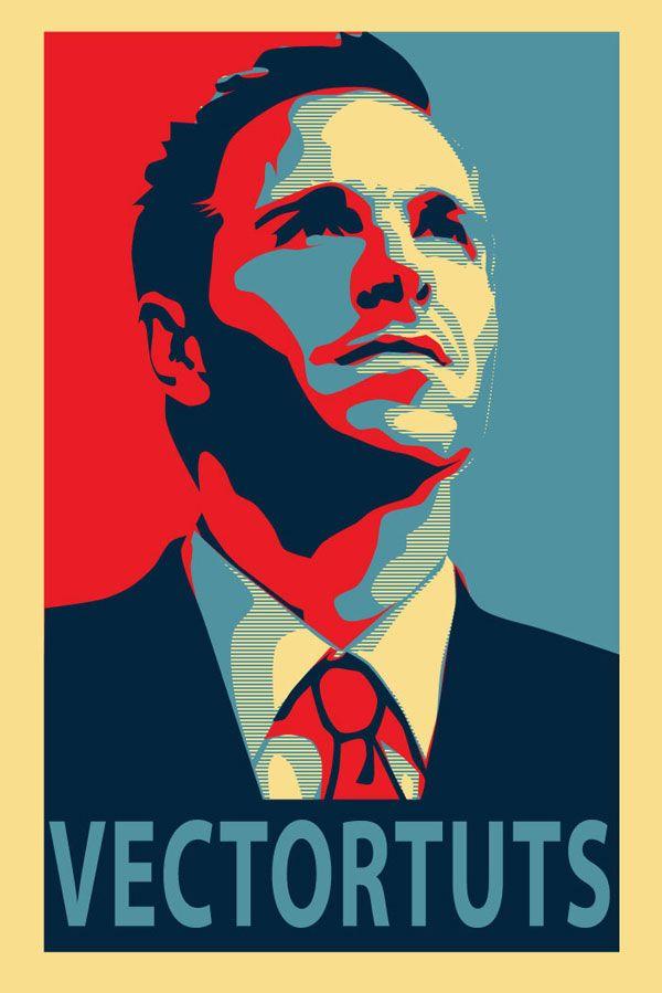 Ukuran Poster Di Photoshop Bernilai Membuat Poster Vektor Terinspirasi Politik