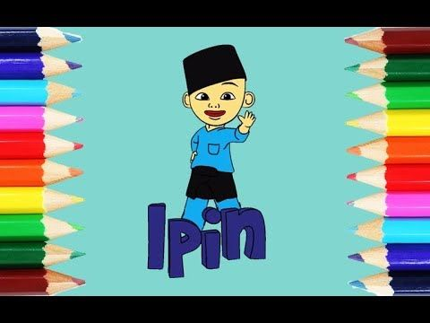 Upin Ipin Mewarna Penting Cara Mewarnai Upin Ipin Indonesia Part Ipin How to Coloring