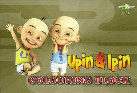 Upin Ipin Mewarna Terbaik Children Books Teaching Aids Online Store Malaysia toad Books