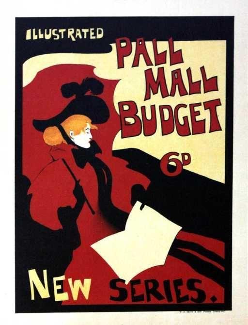Vintage Poster Baik the Pall Mall Budget Vintage Poster On Vintage Posters Pinterest