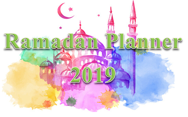Ramadan Planner 2019