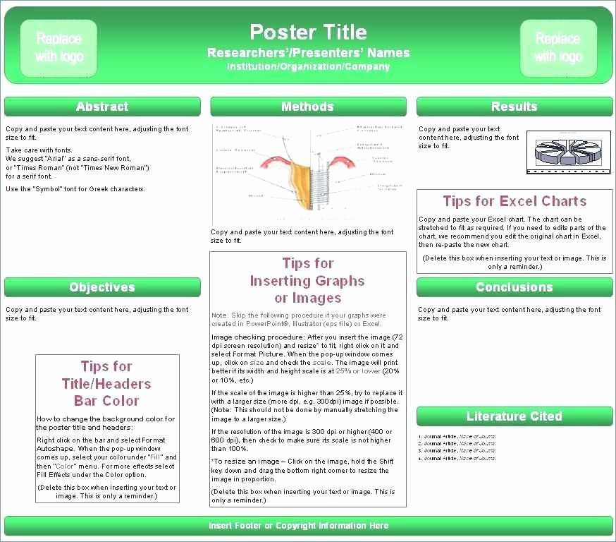 academic poster template powerpoint fresh a e a a1 research poster template amazing 0d science poster template