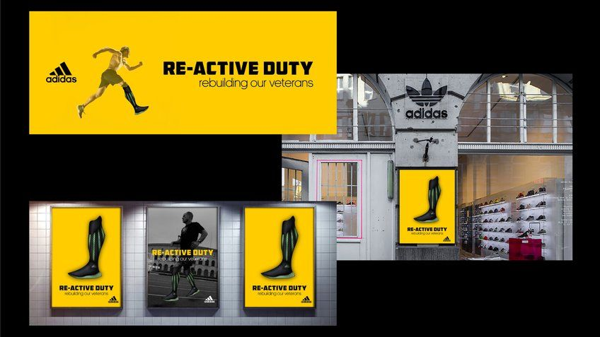 Adidas Poster Menarik Re Active Duty Prosthetics 2018 D Ad New Blood Winner Adidas D Ad