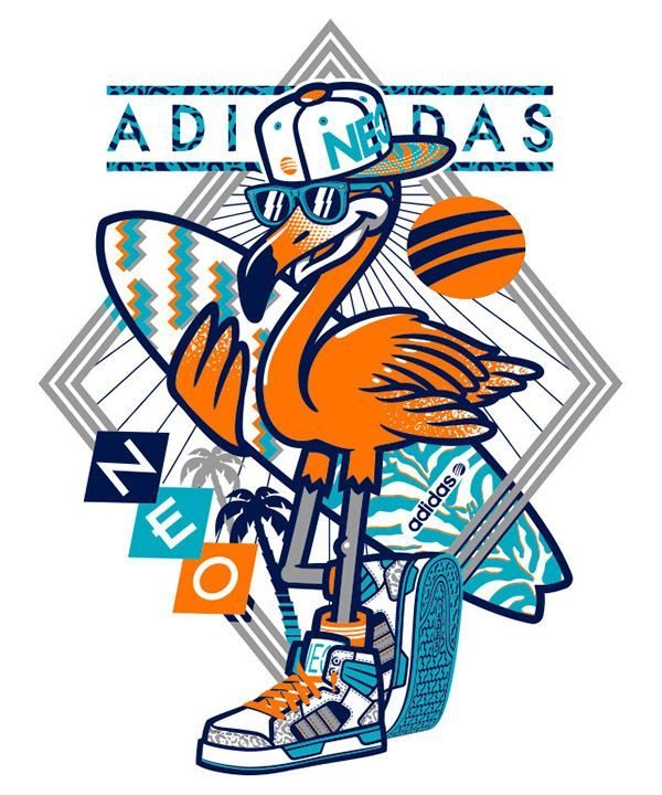 adidas t shirt graphics