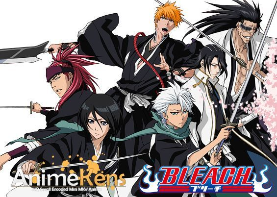 Anime Poster Penting Ge5875 Bleach Wall Scroll Anime Poster Group Ichigo toshiro Rangiku