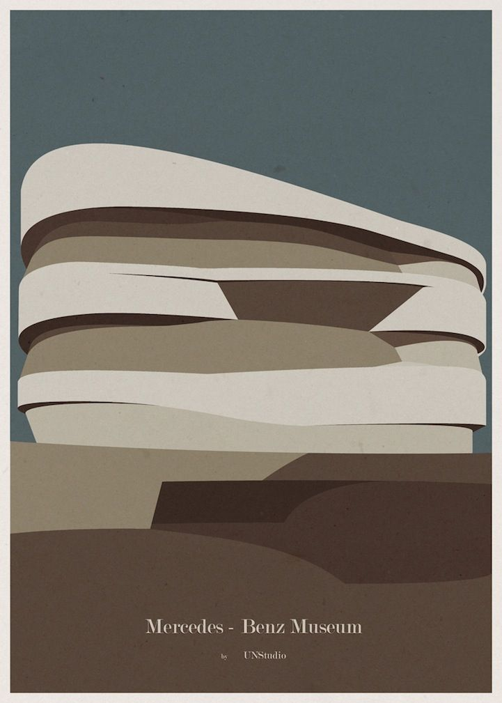 minimalist architecture posters by andre chiote my modern metropolis