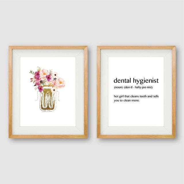 dental anatomy canvas poster dentist office wall art print painting dental hygienist funny quote picture bathroom decoration