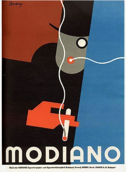 robert bereny modiano poster 1930